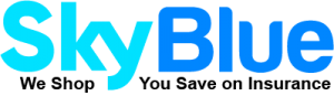 SkyBlue motorcycle Insurance Logo